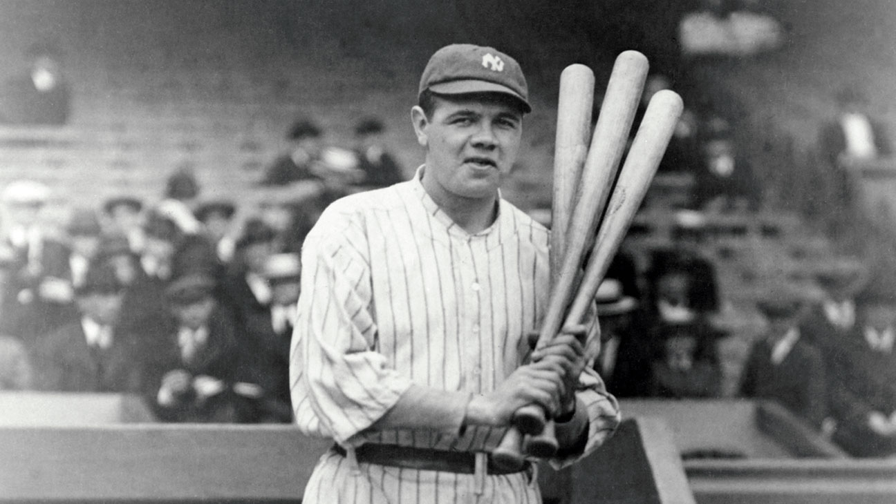 New York Yankees great Babe Ruth