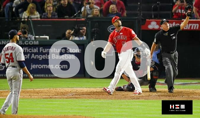 TOP: Cada centena de Home Run de Albert Pujols