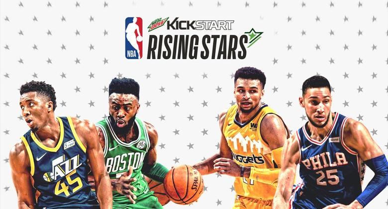 Mtn Dew Kickstart Rising Stars 2018: Team USA y Team World
