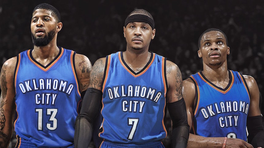El fracaso del Big-Three de Oklahoma