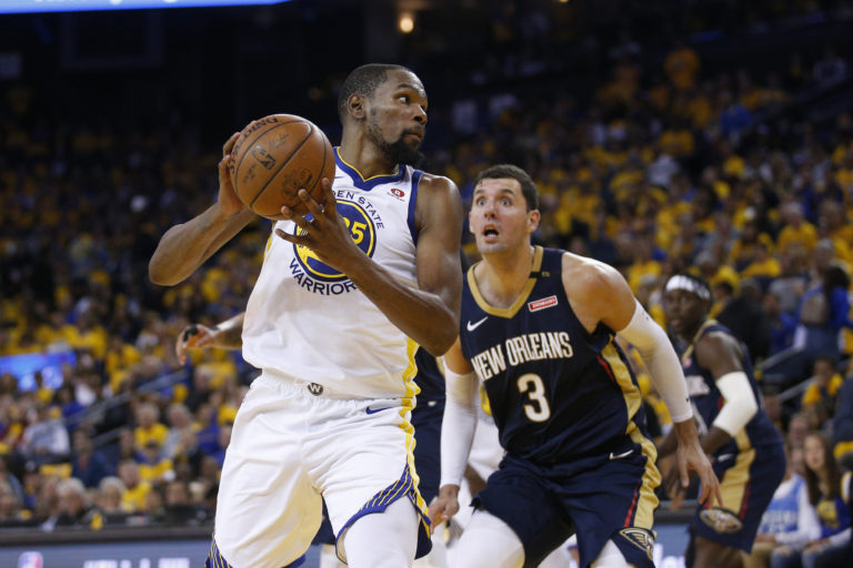 Playoffs 2018 NBA: Golden State Warriors vs New Orleans Pelicans