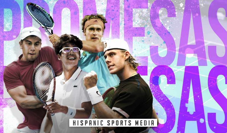 LOS 10 TENISTAS PROMESAS DE LA ATP | VIDEO TOP 2018