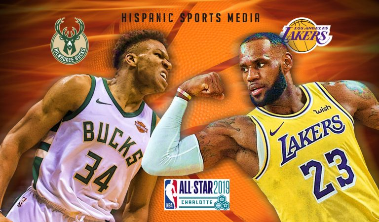 Giannis vs. LeBron: duelo explosivo entre los capitanes del All-Star Game