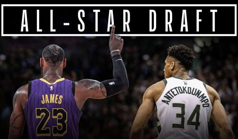 LeBron y Giannis definieron sus equipos para el All-Star Game