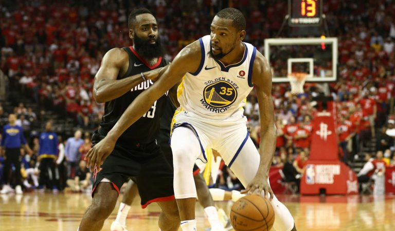 Golden State Warriors vs Houston Rockets, Durant es la clave
