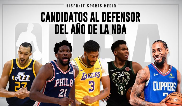 Candidatos al Defensor del Año NBA 2019-20