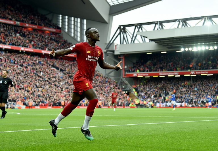 Sadio Mané Liverpool Senegal UCL