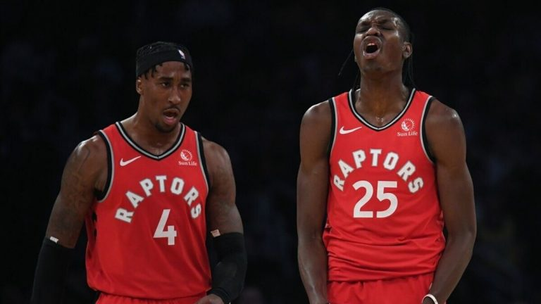 Toronto Raptors Chris Boucher Rondae Hollis-Jefferson NBA
