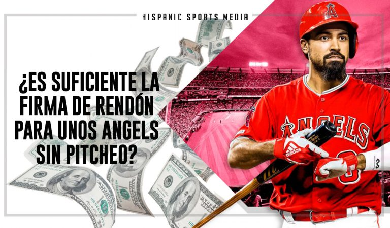 ¿Es suficiente la firma de Rendon para unos Angels sin pitcheo?