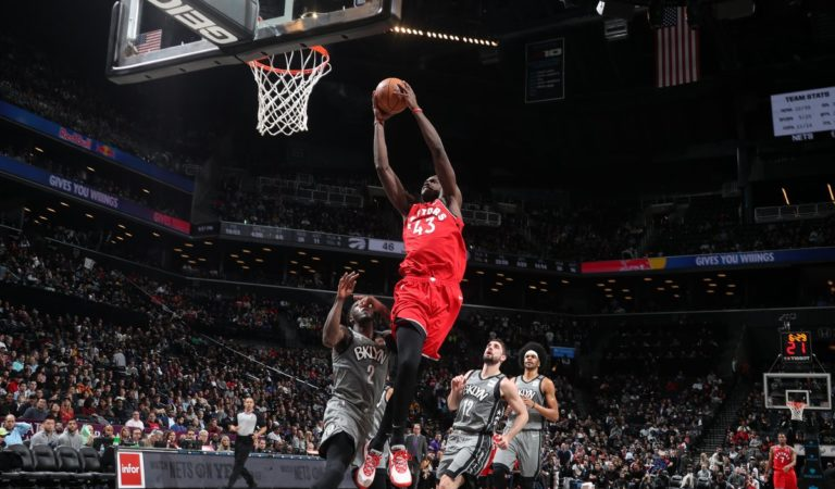 Los Raptors caen en el Barclays Center ante los Nets