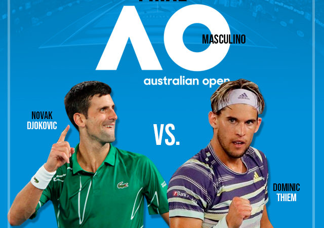 Djokovic y Thiem la final del Australian Open