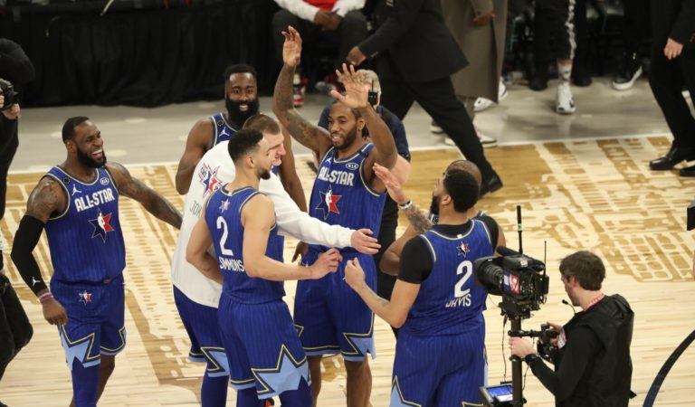 Team LeBron, ganador de un emocionante All-Star Game