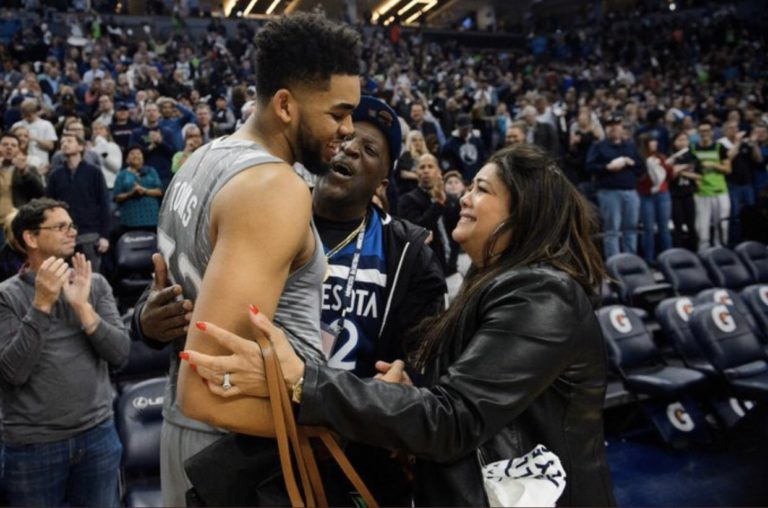 madre de Karl-Anthony Towns