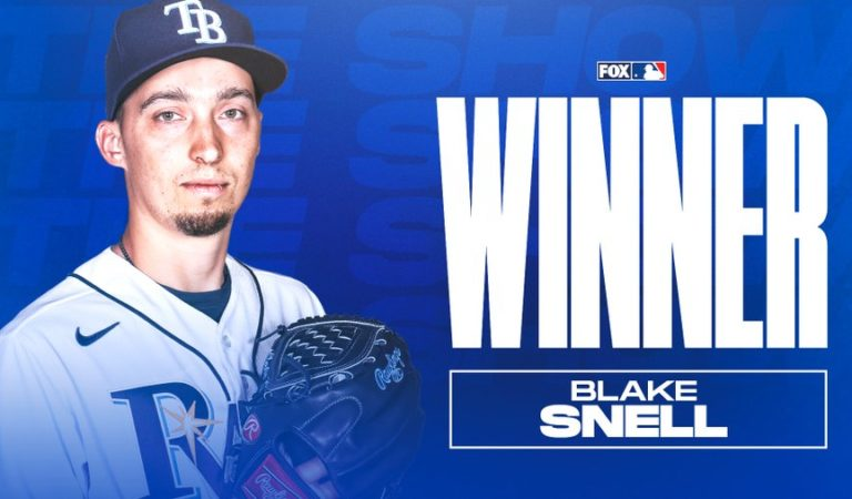 Blake Snell gana el MLB The Players Show League