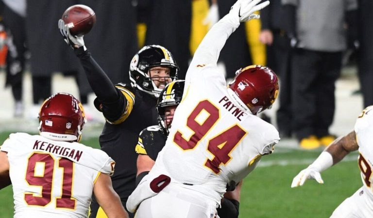 Se acabó el invicto de Steelers… a manos de Washington