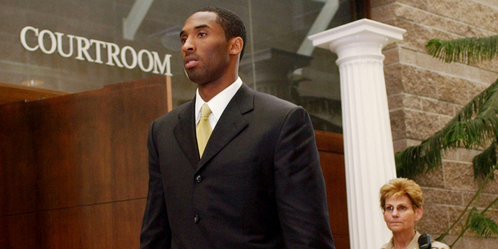 Kobe fue acusado de abuso sexual en 2003