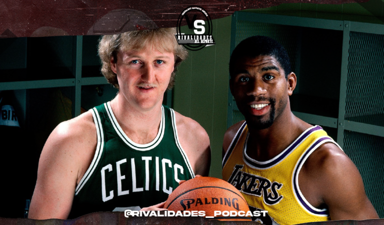 Rivalidades del Deporte: El nuevo Podcast de HSM – Magic Johnson Vs Larry Bird #1